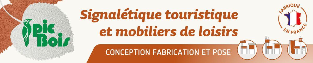 PIC BOIS leader des fabricants de signalétique touristique et mobiliers de loisirs